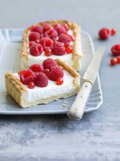 recette tarte au fromage blanc et framboises 750g. Black Bedroom Furniture Sets. Home Design Ideas