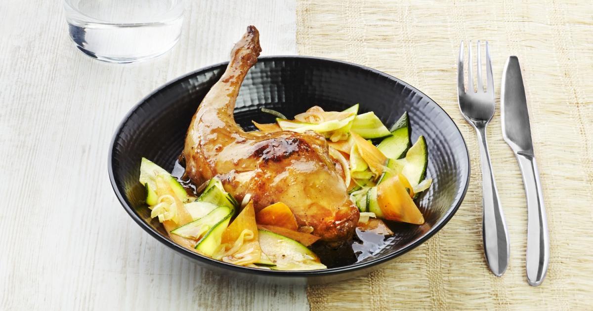 Recette cuisses de lapin l 39 asiatique 750g - Comment cuisiner des cuisses de lapin ...
