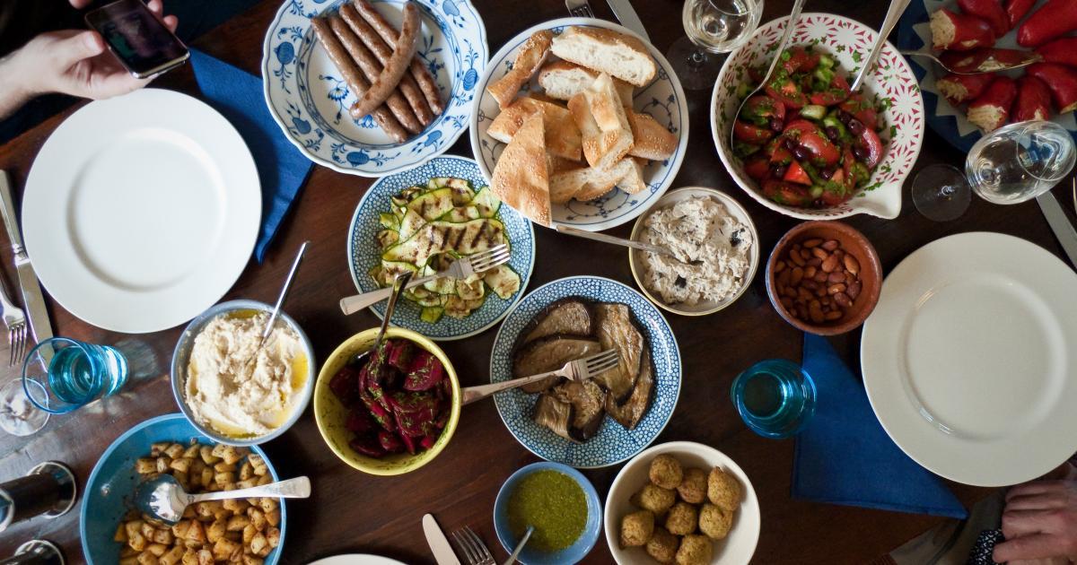 mezze libanais recettes