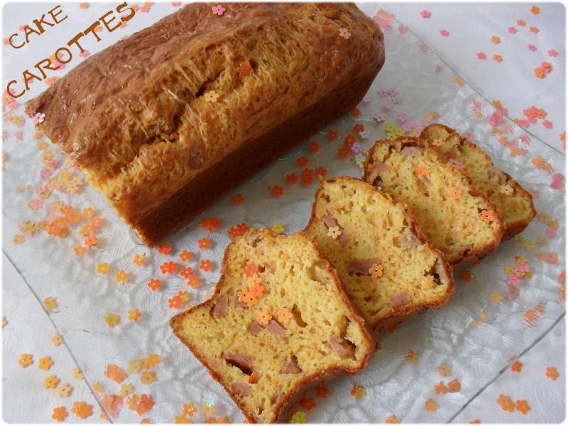 Recette cake sal aux carottes 750g - Recette cake sale vegetarien ...