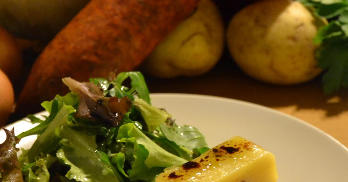 Recette mille feuilles de pommes de terre confites et - Comment cuisiner la saucisse de morteau ...