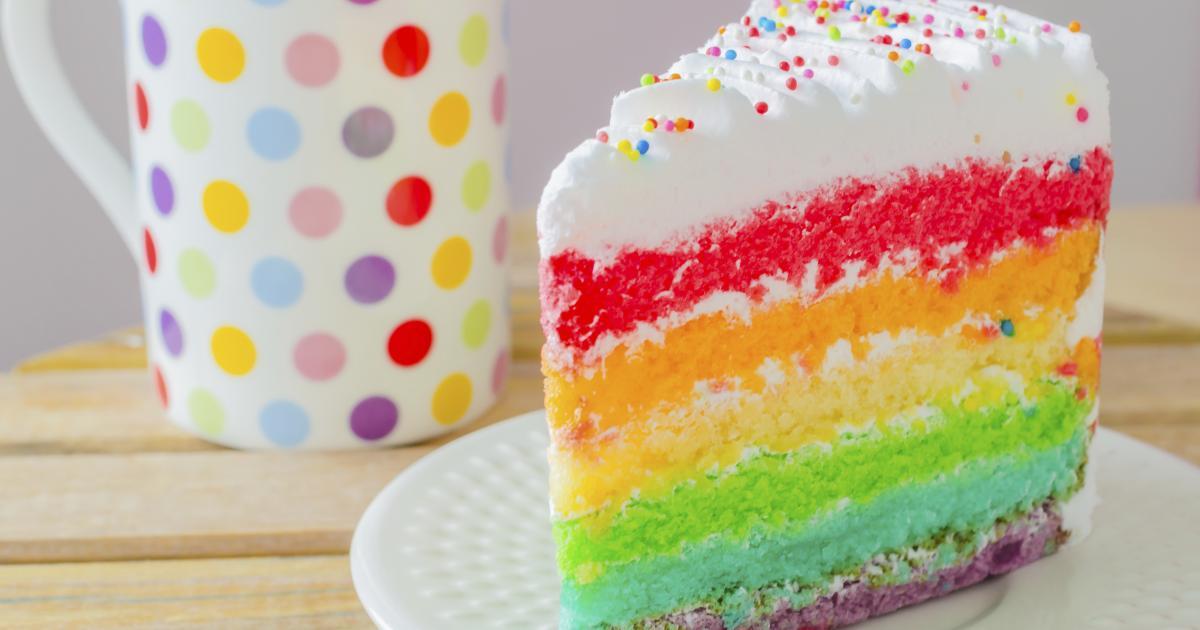 Rainbow Cake Garcon G
