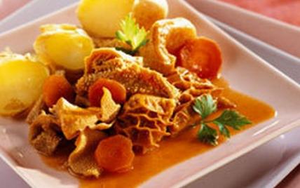Recette tripes aux pommes de terre nouvelles 750g - Cuisiner des pommes de terre nouvelles ...