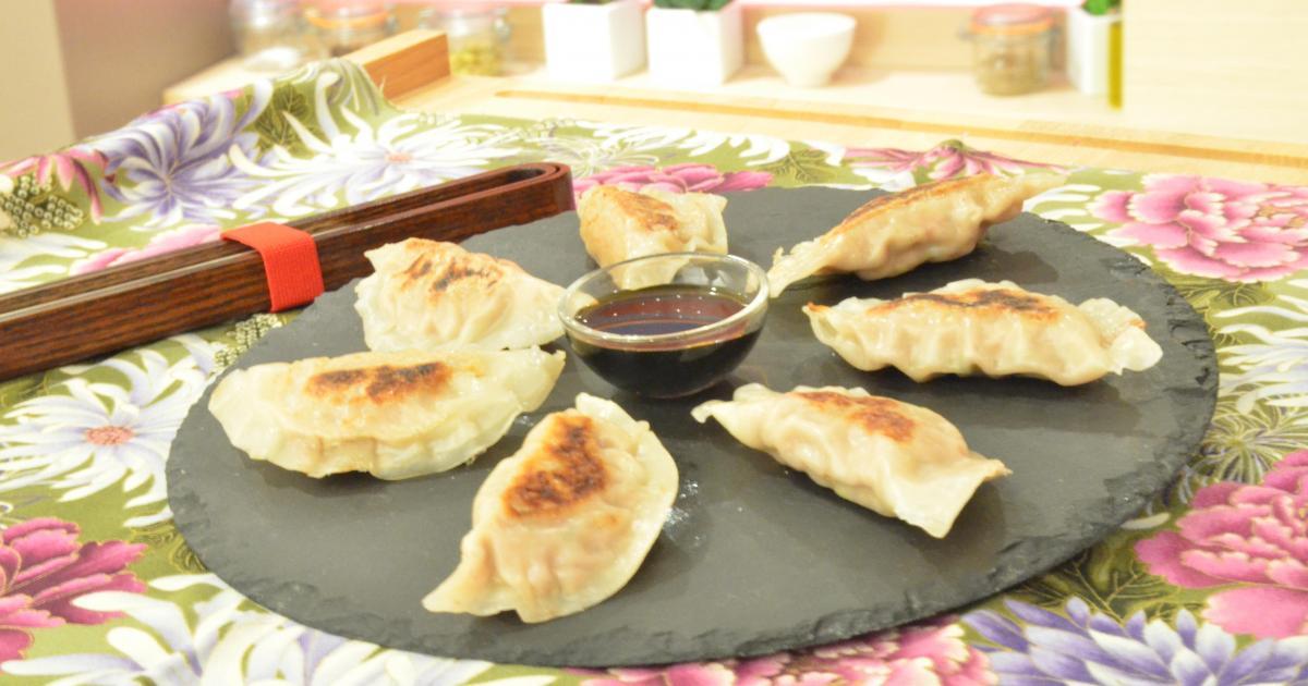 Recette gyoza raviolis japonais en vid o - Apprendre a cuisiner japonais ...