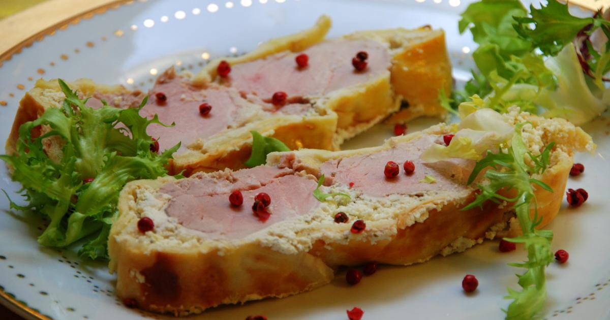 Recette filet mignon en cro te au fromage frais moutard - Comment cuisiner un filet mignon de porc ...