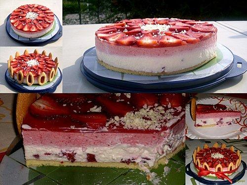 Recette - Gourmandise fraise mascarpone | 750g