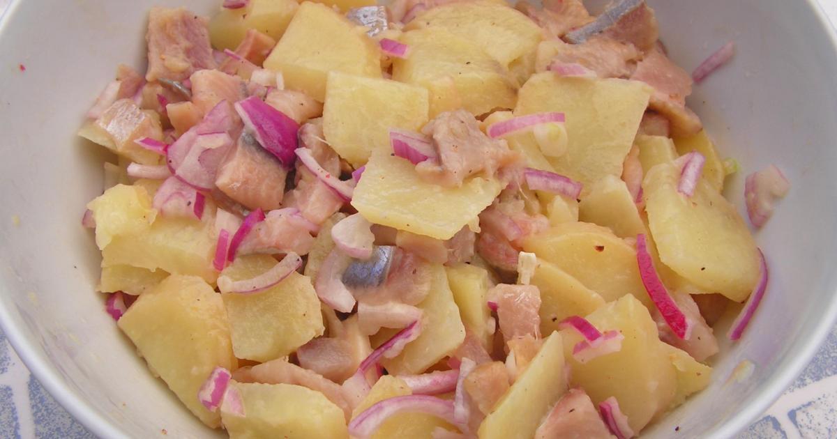 Recette Salade De Pommes De Terre Facile 750g
