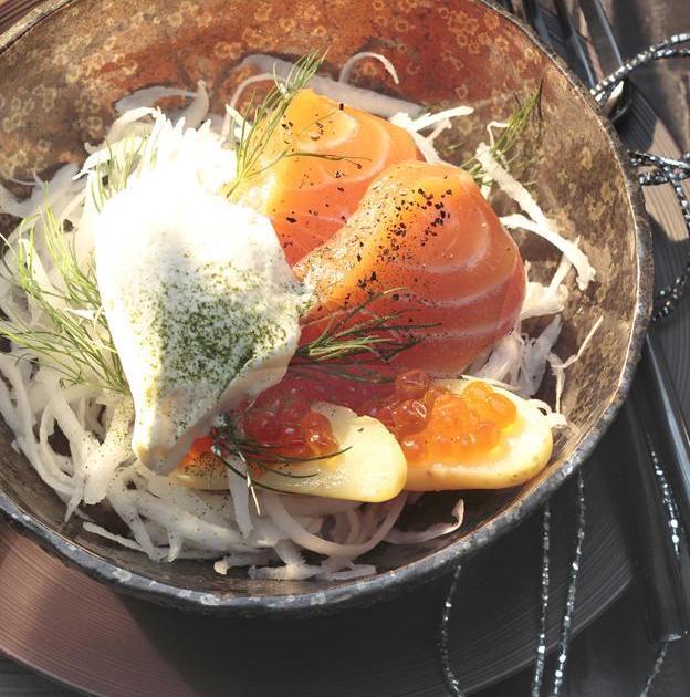 recette saumon frais marin rattes radis noir et chantilly verte 750g. Black Bedroom Furniture Sets. Home Design Ideas