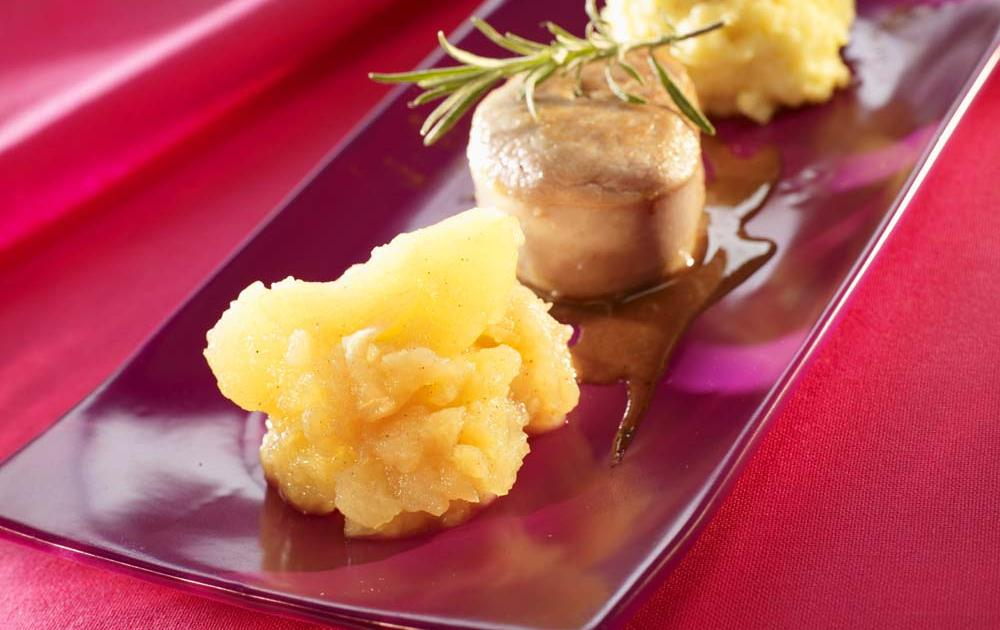 Recette tournedos de filet mignon cras de pommes de for Documentaire cuisine gastronomique