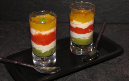 recettes de verrines de poivrons et ch232vre les recettes