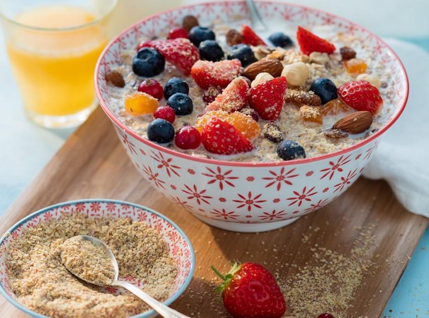 recette porridge aux fruits frais et fruits secs 750g. Black Bedroom Furniture Sets. Home Design Ideas