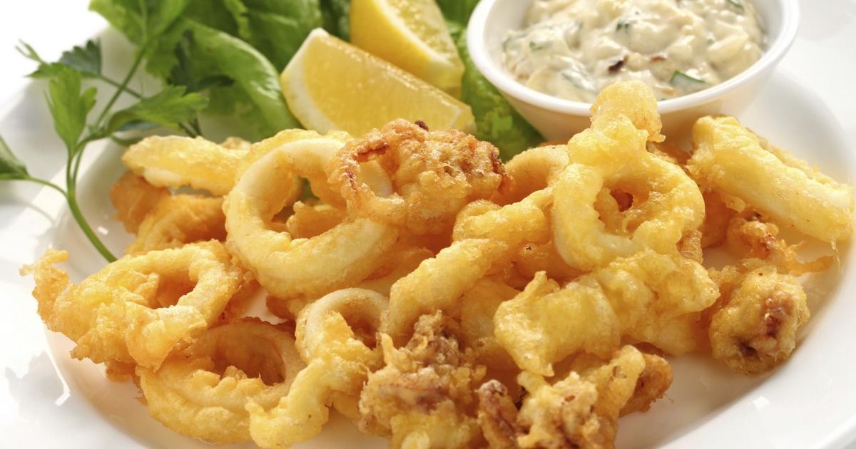 Recettes des beignets de calamars les recettes les mieux not es - Comment cuisiner les calamars ...