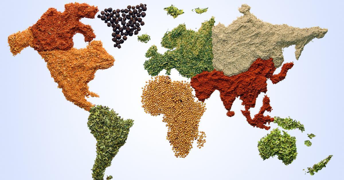 Cuisine du monde 750g - Top 10 des cuisines du monde ...