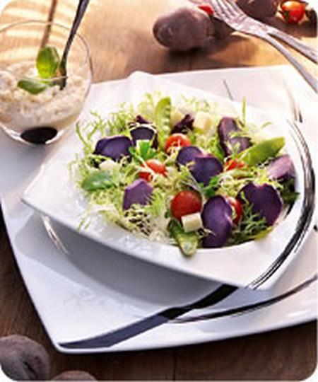 Recette salade de vitelottes et sa sauce au raifort 750g - Comment ranger ses recettes de cuisine ...