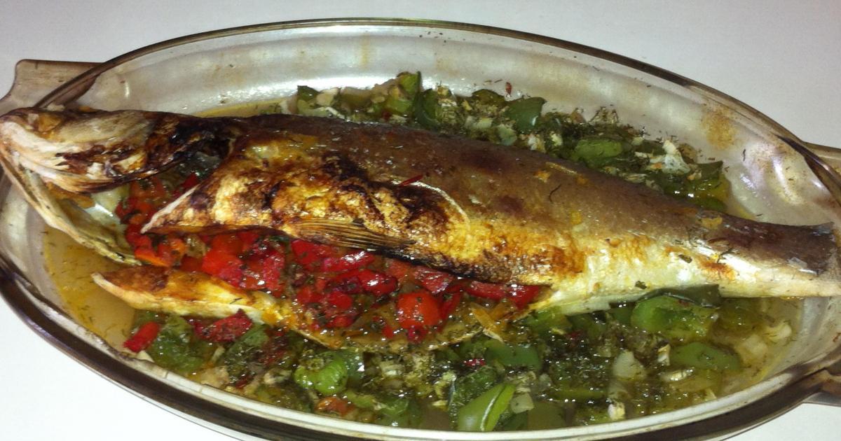 Recettes de loup de mer au four les recettes les mieux - Cuisiner vesse de loup ...