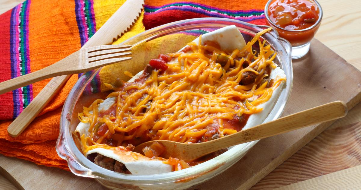 Recette enchiladas de boeuf et haricots rouges en pas pas - Comment cuisiner des haricots rouges ...