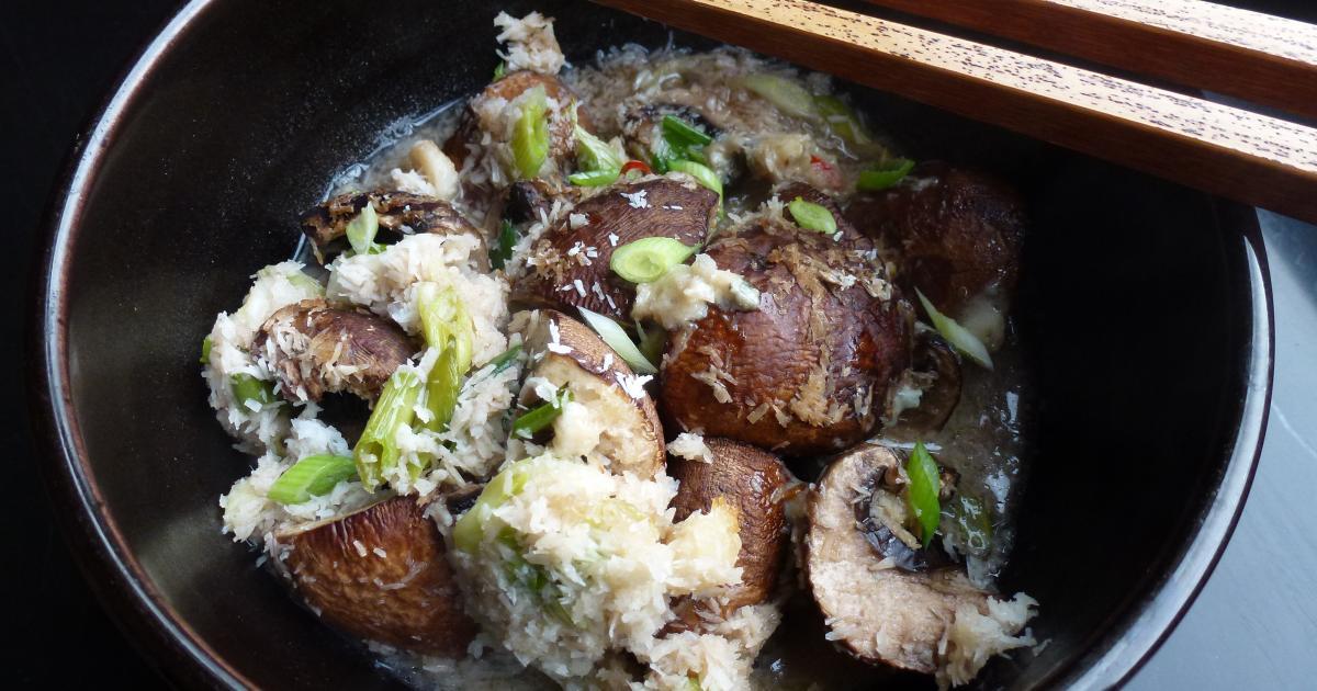 Recette papillotes de champignons roquefort et coco for Cuisine 750g