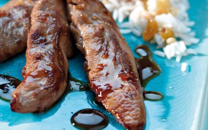Recettes de sauce pour aiguillettes de canard les recettes les mieux not es - Comment cuisiner aiguillettes canard ...