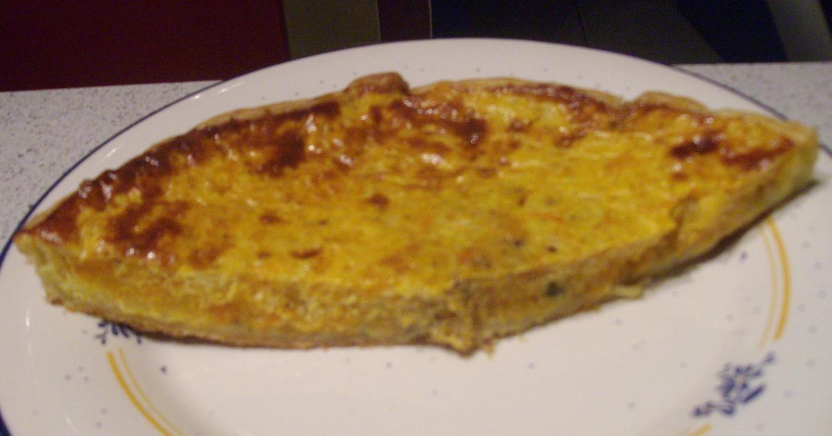 recette - tarte à la courge butternut et au roquefort   notée 4.3/5