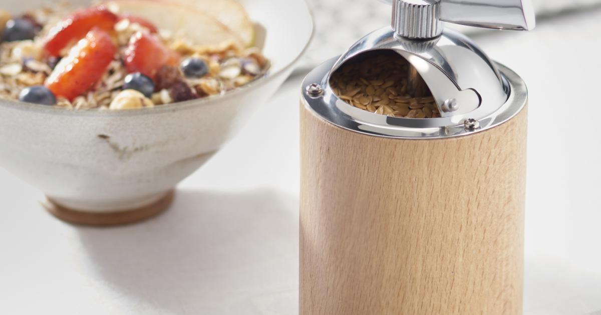 Pourquoi vous devriez avoir un moulin graines de lin - Moulin graines de lin cuisine ...