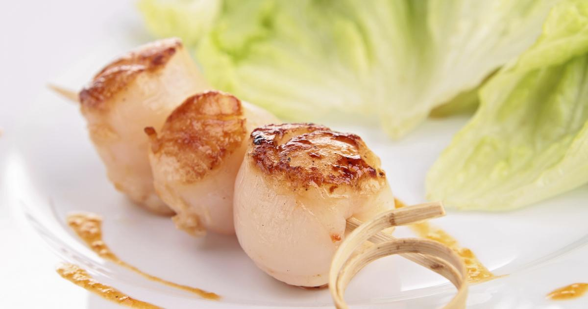 Recette noix de saint jacques au vinaigre balsamique et la cr me 750g - Vinaigre balsamique calorie ...