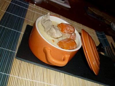 Recette blanquette de veau traditionnelle 750g - Comment cuisiner une blanquette de veau ...