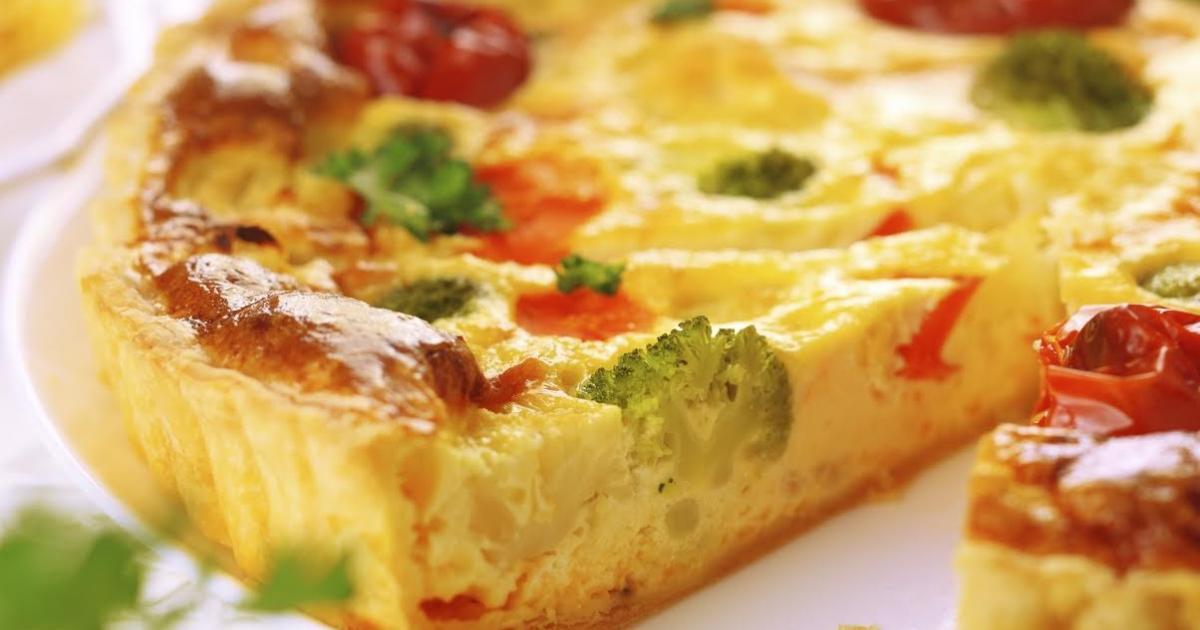 Recettes de tarte aux brocolis les recettes les mieux not es - Cuisiner brocolis surgeles ...
