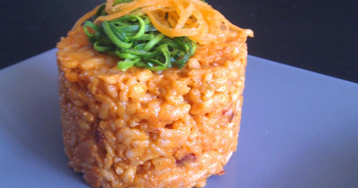 Recettes de risotto aux tomates s ch es les recettes les - Risotto tomate thermomix ...