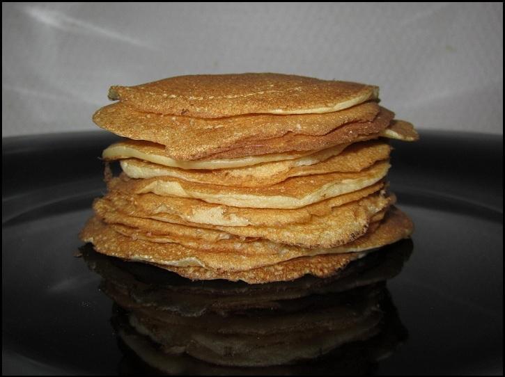 Recette - Pancakes nature et facile 750g