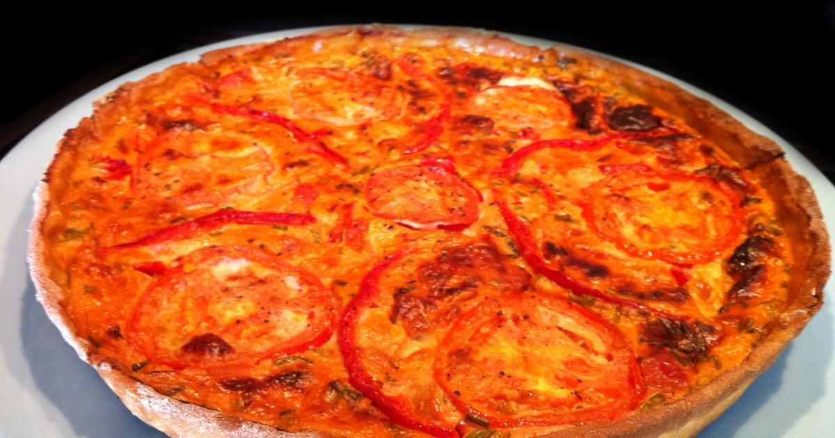 recette j 39 ai attrap un coup de soleil quiche carlate tomate mozza poivron 750g. Black Bedroom Furniture Sets. Home Design Ideas