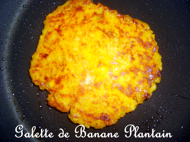recette galette de banane plantain 750g. Black Bedroom Furniture Sets. Home Design Ideas