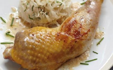 Recette cuisse de pintade fermi re grill e salade de - Comment cuisiner des cuisses de pintade ...