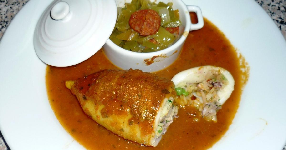 Recettes des calamars au chorizo les recettes les mieux - Cuisiner des encornets ...