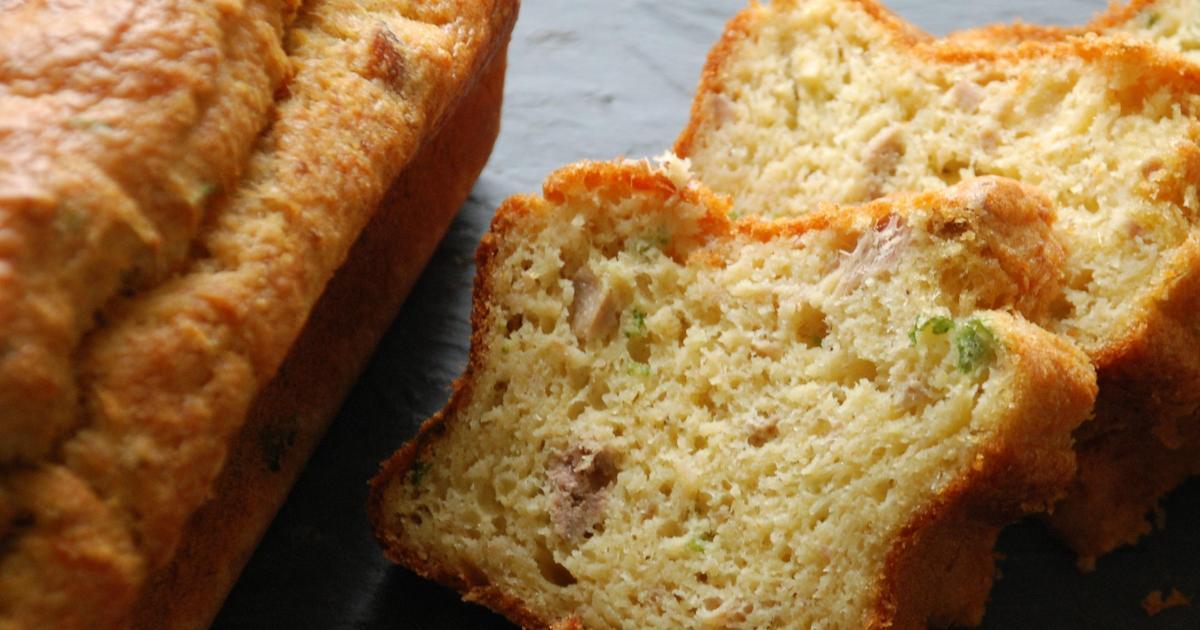 Recettes de cake au thon et gruy re les recettes les - Cuisiner les poivrons verts ...