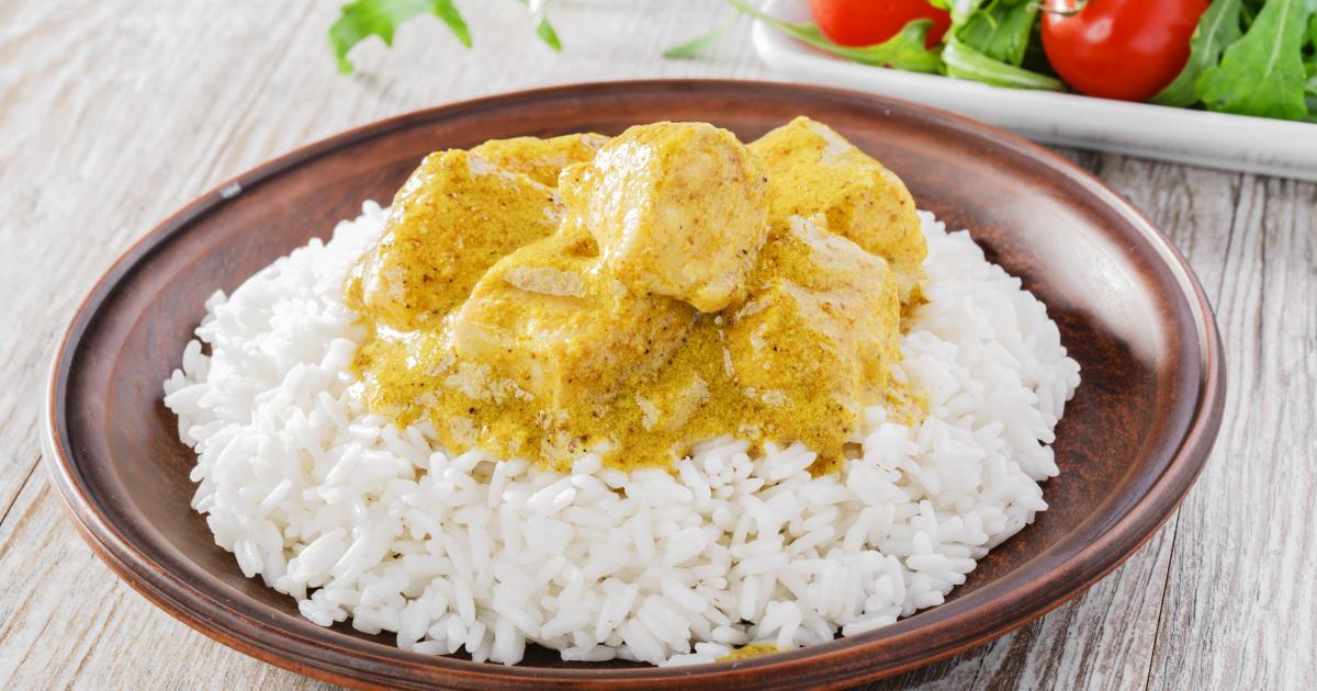 Recette Poulet Curry Et Coco 750g
