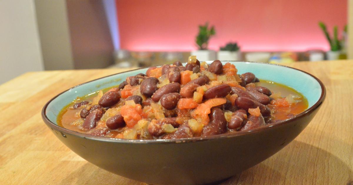 Recette curry de haricots rouges en vid o - Comment cuisiner les haricots rouges ...