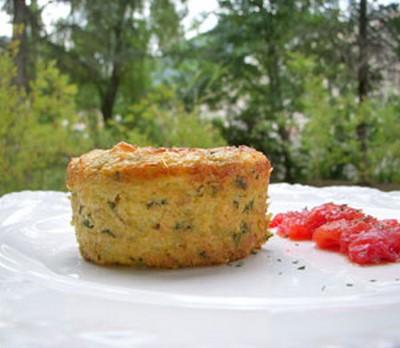 Recette flan de polenta la ricotta courgettes - Comment cuire la polenta ...