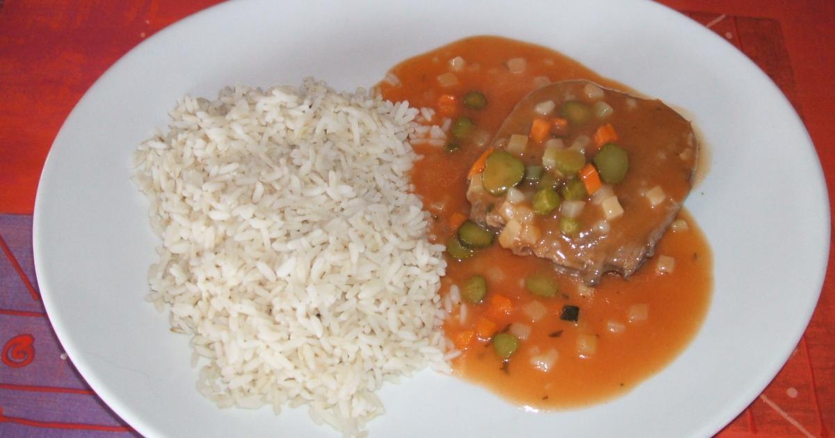 Recette langue de boeuf sauce ric 750g - Cuisiner une langue de boeuf ...