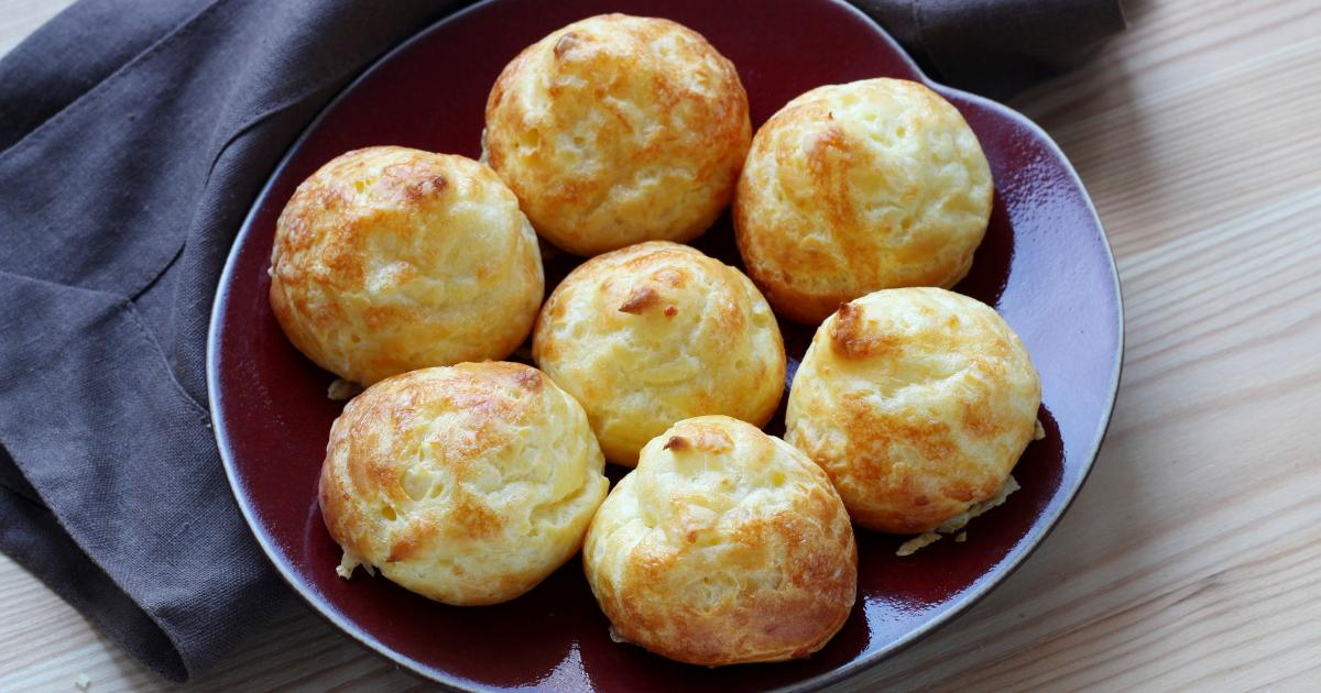 Les gougères Традиционные блюда Лиона
