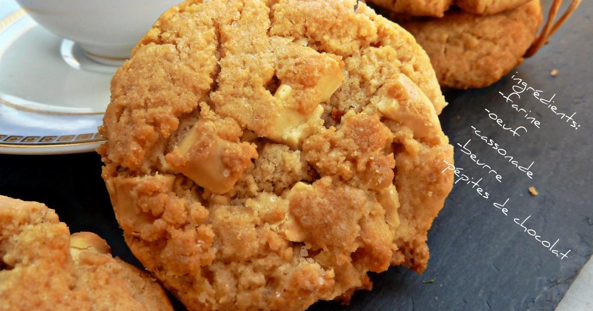 Recette cookies au beurre de cacahu tes classiques 750g - Cookies beurre de cacahuete ...