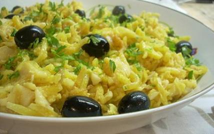 Recettes de la morue la portugaise les recettes les mieux not es - Cuisine portugaise la rochelle ...