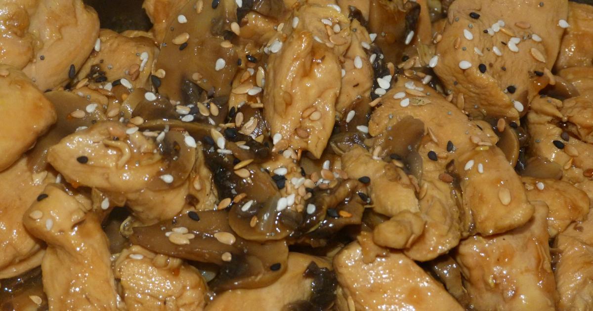 Recettes d 39 escalope de poulet en sauce les recettes les mieux not es - Cuisiner le poulet en sauce ...
