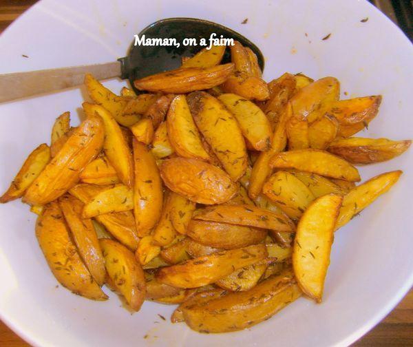 Recette frites aux pices au four 750g for Cuisine 750g