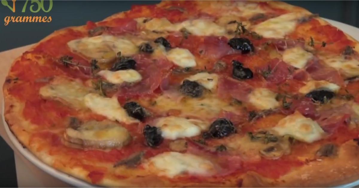 recettes de pizza aux anchois les recettes les mieux not es. Black Bedroom Furniture Sets. Home Design Ideas
