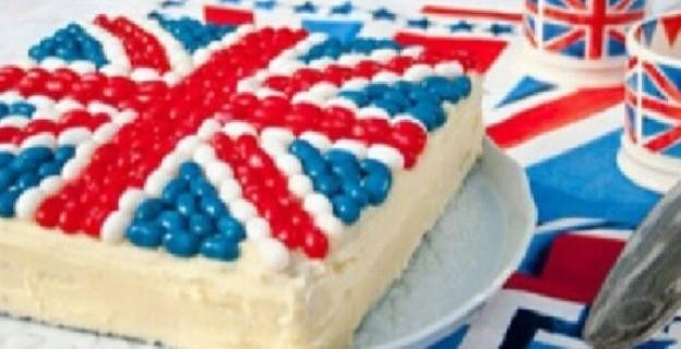 10 gâteaux drapeaux - 9 photos