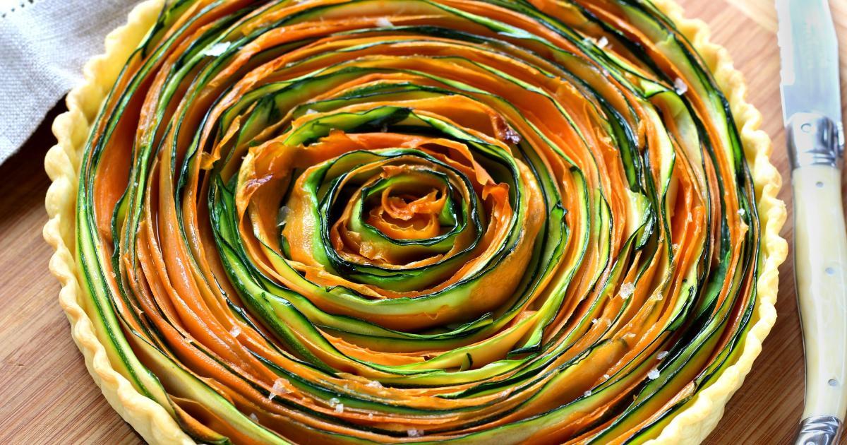 Amazing Petit Plat Facile A Cuisiner #3: Tarte-spirale-aux-legumes.jpg