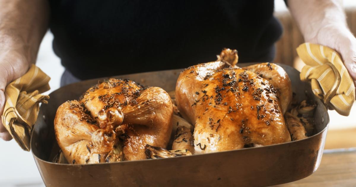 comment faire cuire un poulet r u00f4ti au four combin u00e9 vapeur