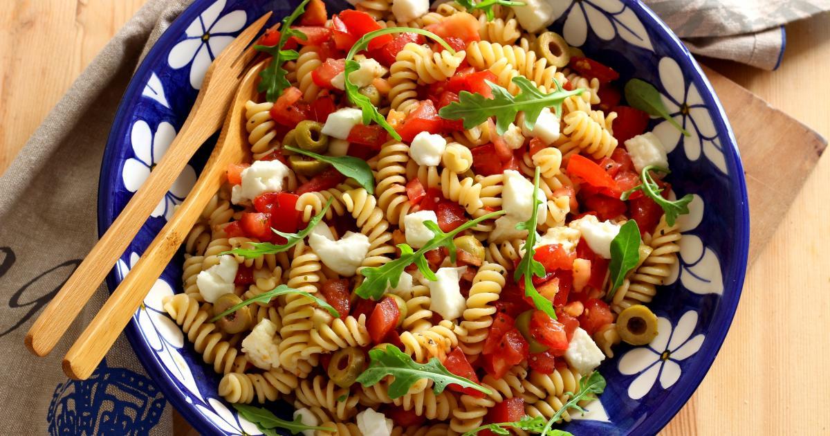 recette salade de p tes comme en italie en pas pas. Black Bedroom Furniture Sets. Home Design Ideas