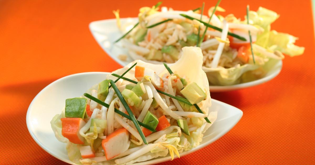 Recettes de salade de pousses de soja les recettes les - Cuisiner les germes de soja ...