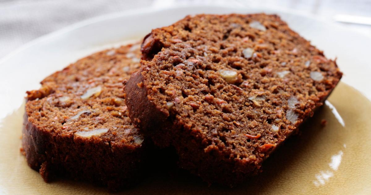 recette cake chocolat carotte vegan 750g. Black Bedroom Furniture Sets. Home Design Ideas